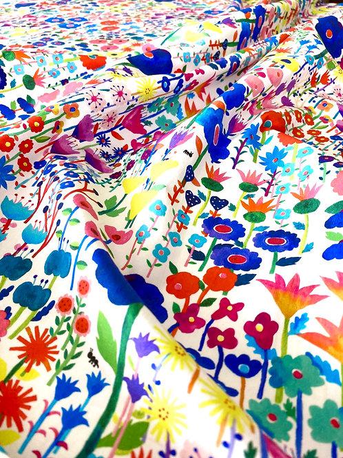 lulu Flower garden / White