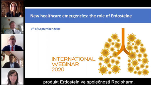 New healthcare emergencies: the role of erdosteine