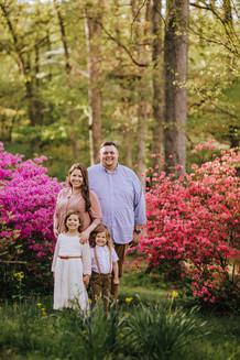 Cape Girardeau Pinecrest Azalea Farm Southeast Missouri Family Photo