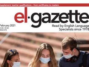 EL Gazette February Issue - Teacher Training Special