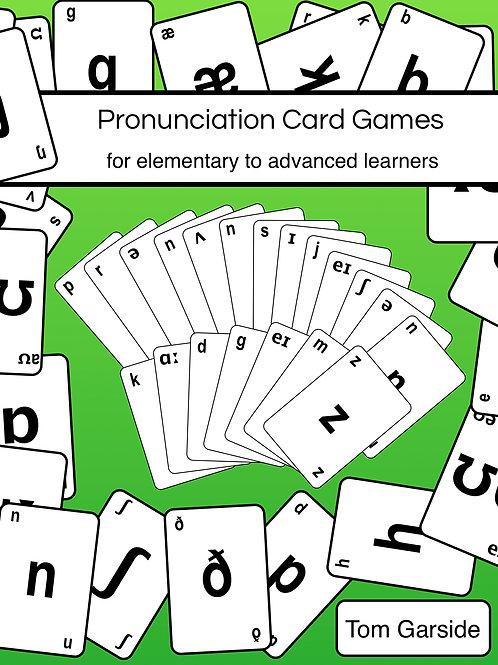 Teach English Pronunciation with Pronunciation Card Games