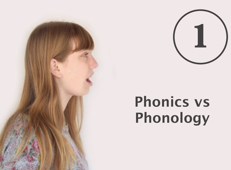 How to teach pronunciation Part 1:                Phonics vs phonology