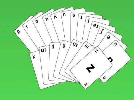 Gamifying pronunciation work through phoneme card games