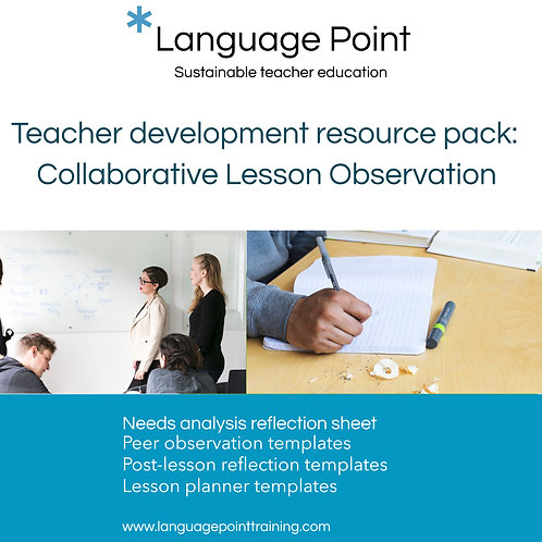 Classroom Observation Resource Pack