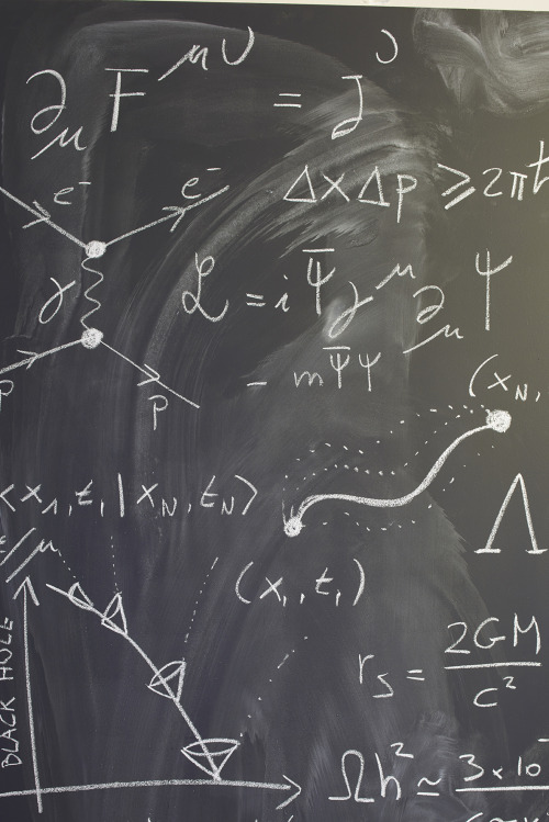 Non-Euclidean Blackboard 3, close up