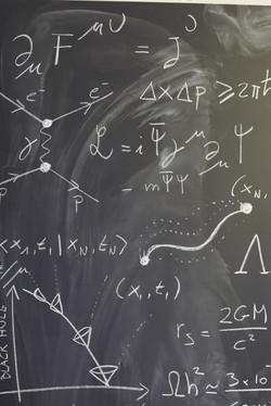 Non-Euclidean Blackboard 3, close up