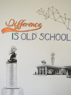 Difference Is Old School
