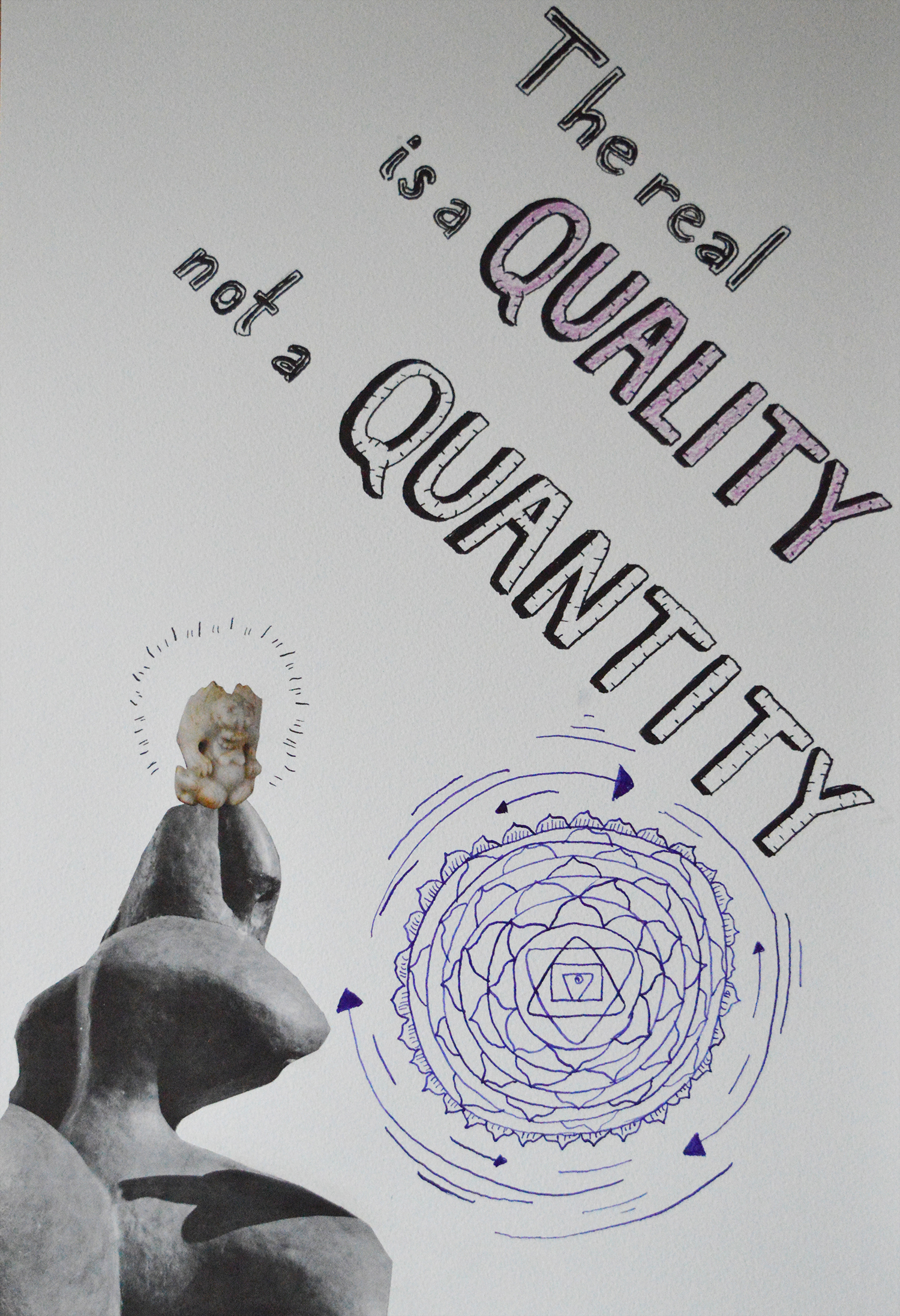 The Real Is a Quality Not a Quantity