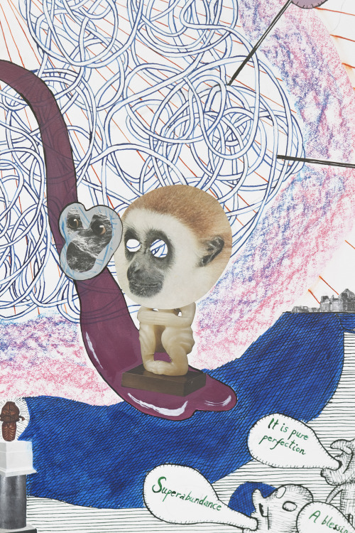 Monkey Mind, detail