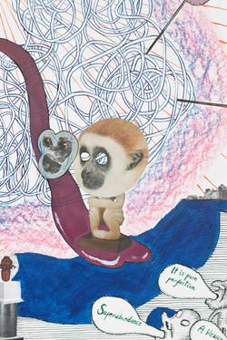 Monkey Mind, detail