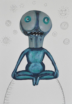 Alert yogi
