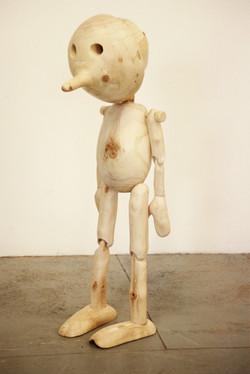 Extrospection, (masked figure)