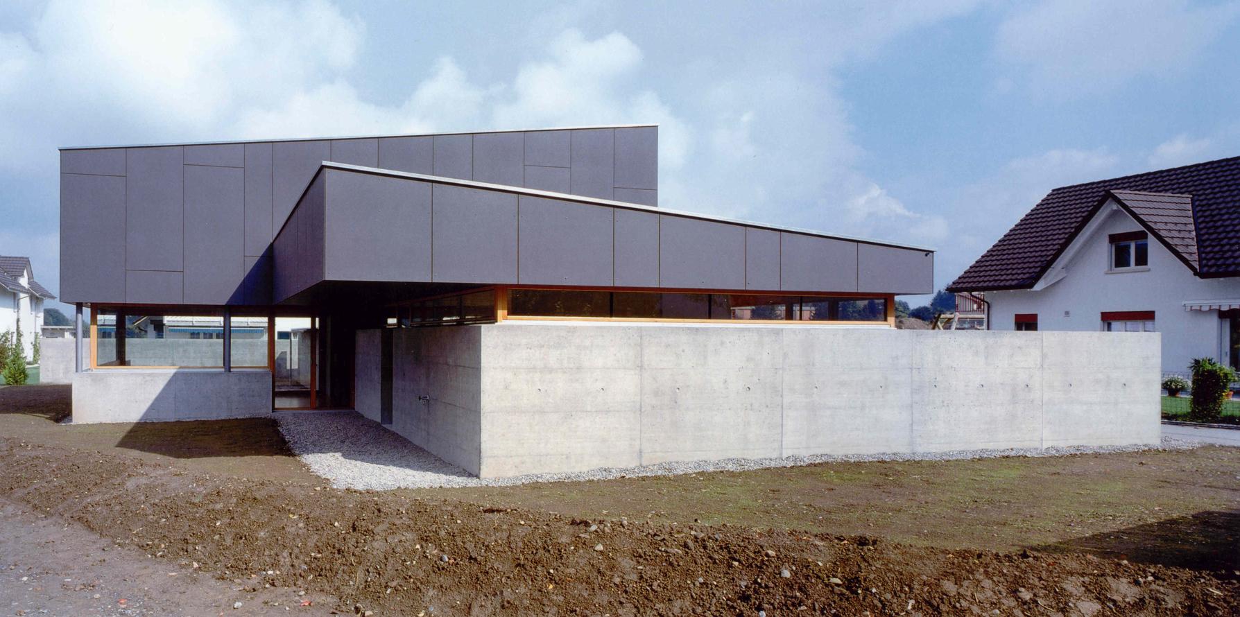 Wohnhaus Bachmatten Muri