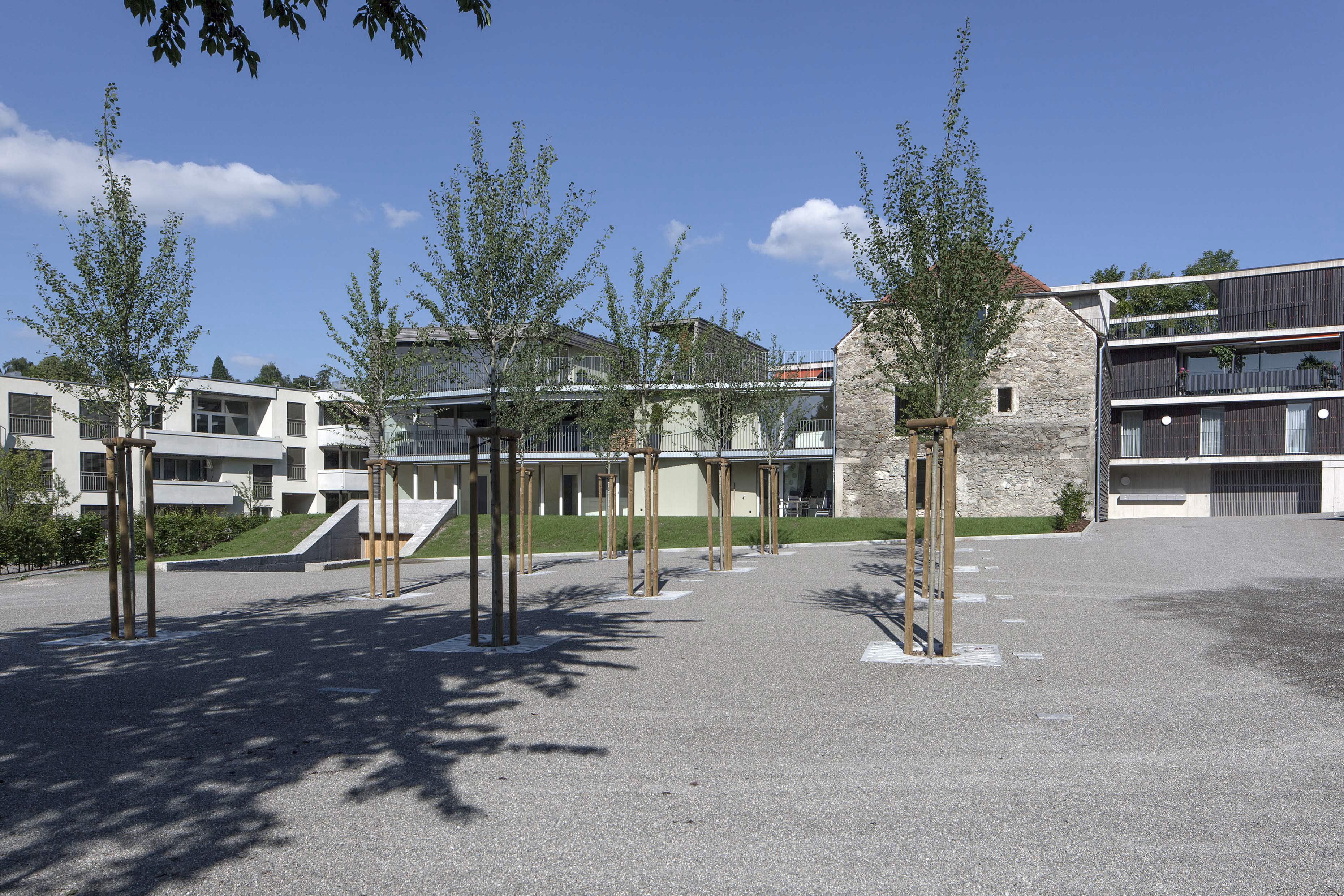 Mehrfamilienhaus Schüür Wohlen