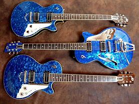 Duesenberg blue trio