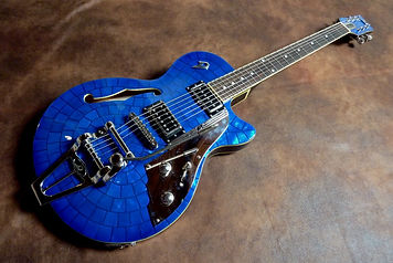 Duesenberg Starplayer Blue Pearl
