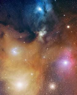 Rho &Ophiuchi Nebula