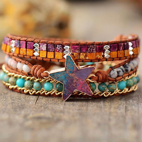 Reach for the stars STAR bracelet