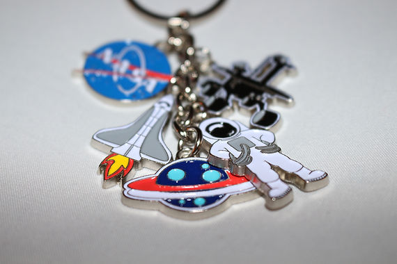 NASA Super Novelty Key Chain