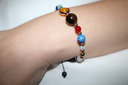Solar System Lava Bracelet