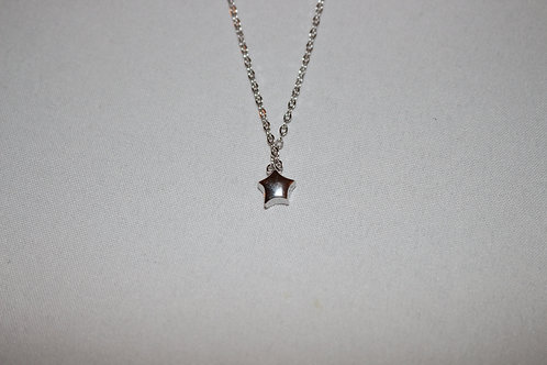 SS Star Necklace