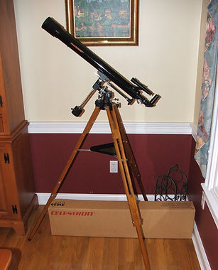 Antique Celestron C-60 Vintage Telescope (BRAND NEW, KEPT IN BOX)