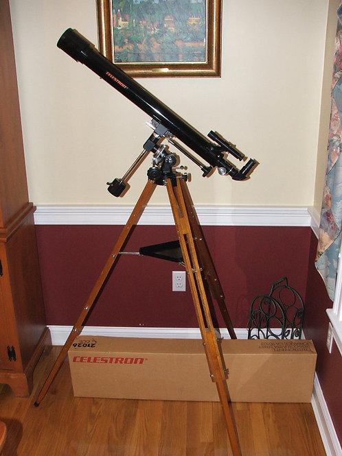 Antique Celestron C-60 Vintage Telescope (BRAND NEW, KEPT IN BOX)