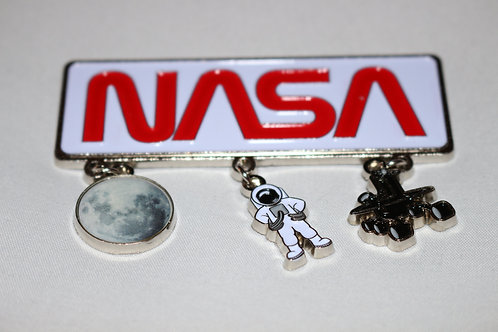 NASA Space Novelty 3 Charm Magnet