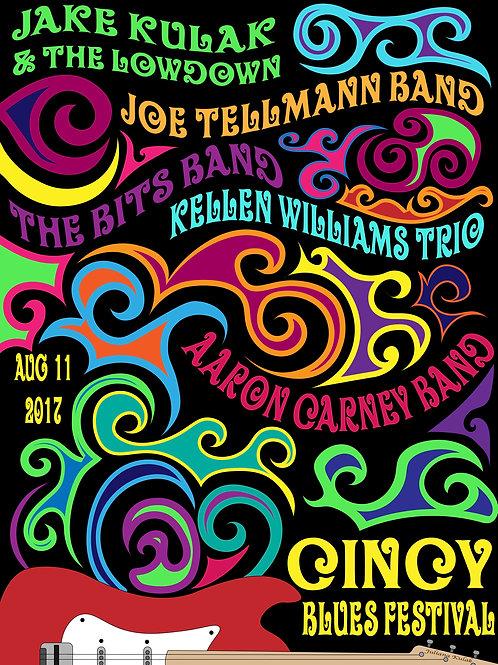 Jake Kulak Concert Poster - Cincy