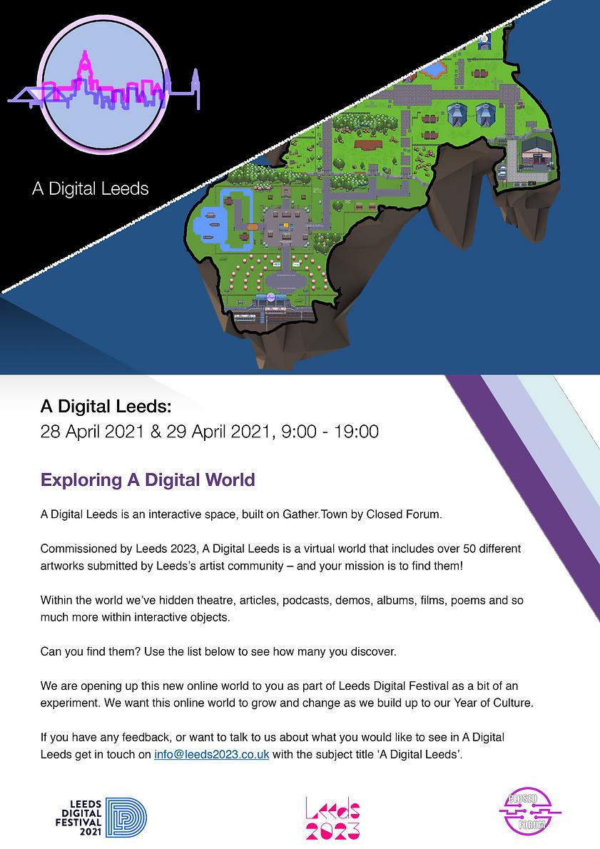 A Digital Leeds - Exploring A Digital Wo