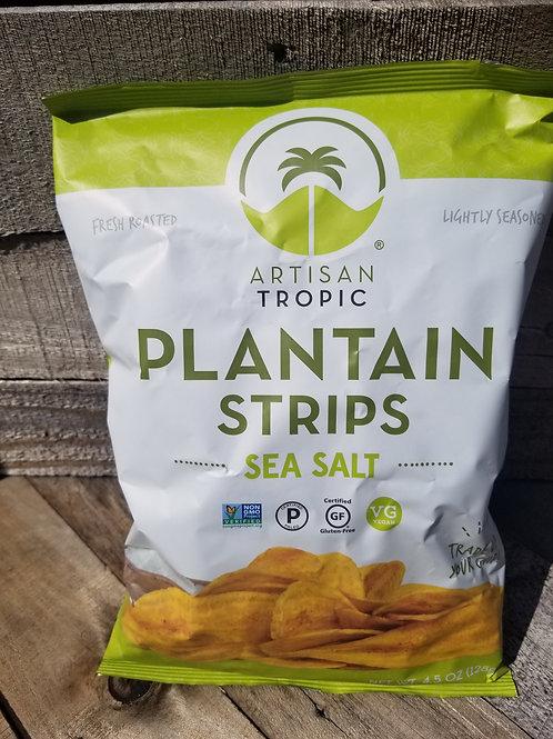 Plantain Strips Sea Salt