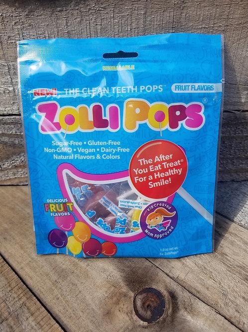 Zollipops, Fruit Flavors