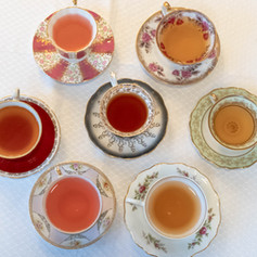 Over 30 tea flavors to choose from