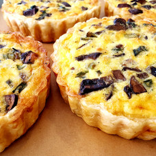 Fresh and flavorful quiches