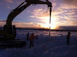 Helical Sunset Feb 4 2014
