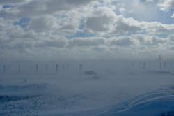 RES Jan 14 Piles in snow storm