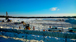 Kap Snow removal, Piles, Racks and PVs - Winter 2014