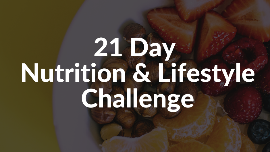 21 Day Nutrition Challenge