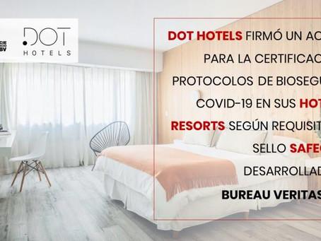 Acuerdo entre Bureau Veritas y DOT Hotels & Resorts