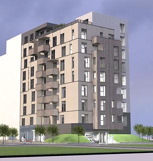 Жилищна сграда на 9 етажа в квартал Надежда. Тиха улица на 50 метра от метростанция и срещу детска градина.
