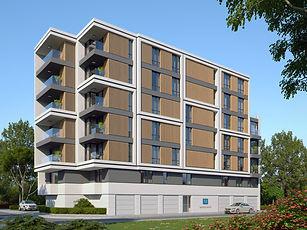 """Жилищна сграда """"Аурелия"""" е ситуирана до Бизнес парк - Младост. Един съвременнен район в близост до всички бизнес и развлекателни места."""
