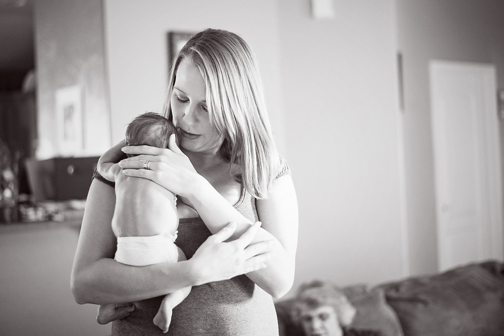 Baby Kama and I 5 days after her birth - Photo by Three Little Foxes Photography