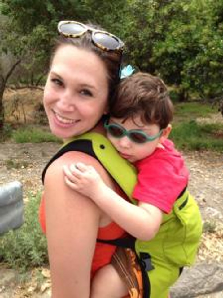 My BFF Ashley and her son Kayson