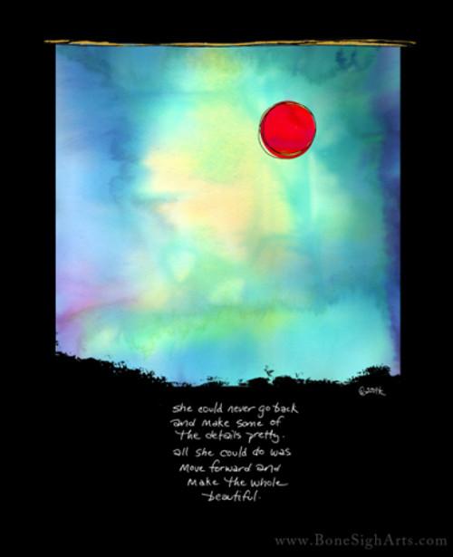 Terri St. Cloud/www.BoneSighArts.com