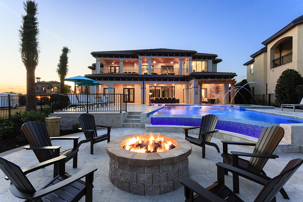 Reunion resort deck