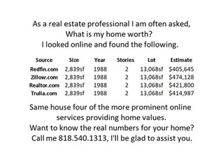 Want to know the real numbers for your home?