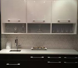 European high gloss cabinet