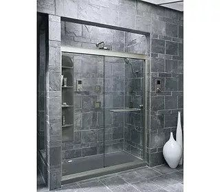 Unique walk-in Shower