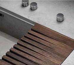 custom sink drain board