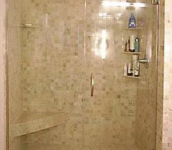 John's walk-in shower